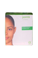 Benetton - points - 3 pieces 3 male natural latex condoms, natural colour, with a reservoir tip, lubricatedwith polydimethysiloxane. Electronically tested.